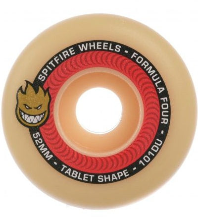 SPITFIRE FORMULA FOUR TABLETS NATURAL 101D 52MM