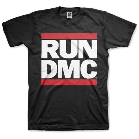 RUN DMC LOGO T-SHIRT BLACK - Skateboards Amsterdam - 1