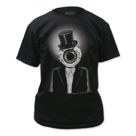 RESIDENTS EYEBALL BLACK T-SHIRT - Skateboards Amsterdam