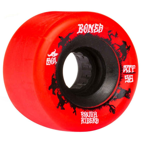 BONES ATF ROUGH RIDERS WRANGLERS RED 80A 56MM