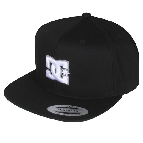 DC SNAPPY SNAPBACK WHITE/BLACK - Skateboards Amsterdam