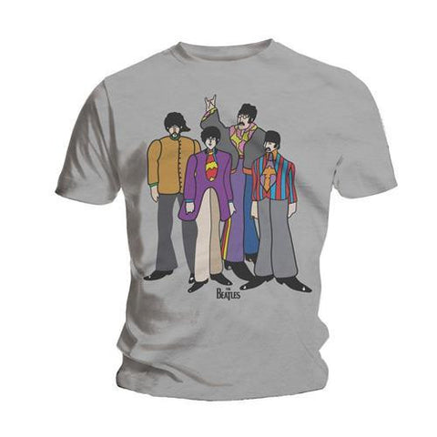 BEATLES SUBMARINE T-SHIRT GREY - Skateboards Amsterdam - 1
