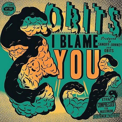Obits-I Blame You - Skateboards Amsterdam
