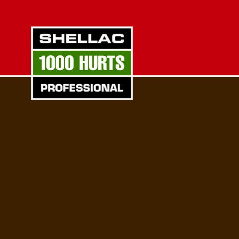 Shellac-1000 Hurts w/Bonus CD - Skateboards Amsterdam