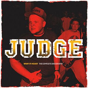 Judge-What It Meant: Complete Discography -Col Vinyl- - Skateboards Amsterdam