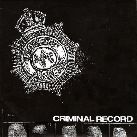 Violent Arrest-Criminal Record - Skateboards Amsterdam