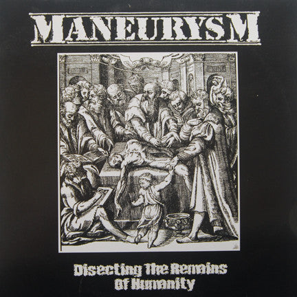 Maneurysm-Disecting The Remains Of Humanity - Skateboards Amsterdam