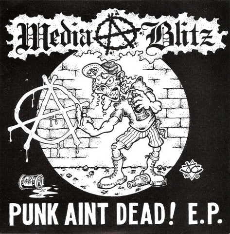 Media Blitz-Punk Aint Dead! - Skateboards Amsterdam