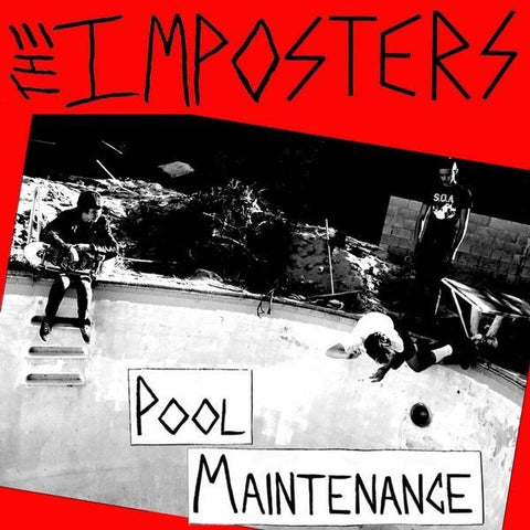 Imposters-Pool Maintenance - Skateboards Amsterdam