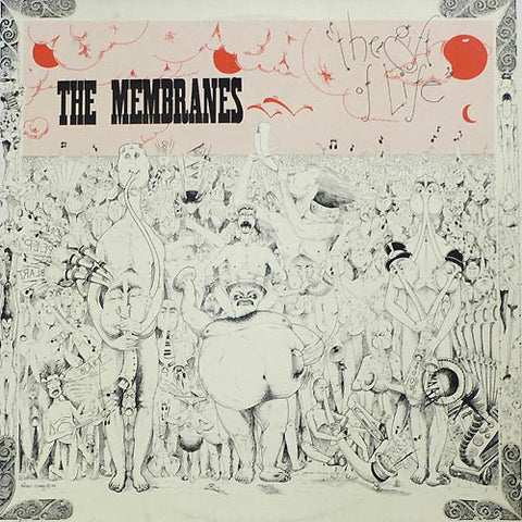 Membranes-The Gift Of Life 2nd Hand - Skateboards Amsterdam