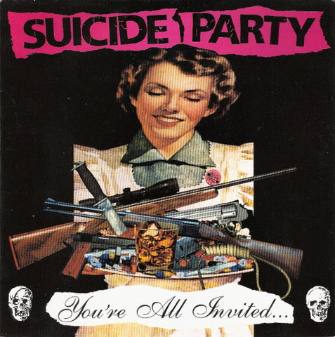 Suicide Party-You're All Invited - Skateboards Amsterdam