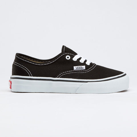 VANS AUTHENTIC VEE0BLK BLACK - Skateboards Amsterdam - 1