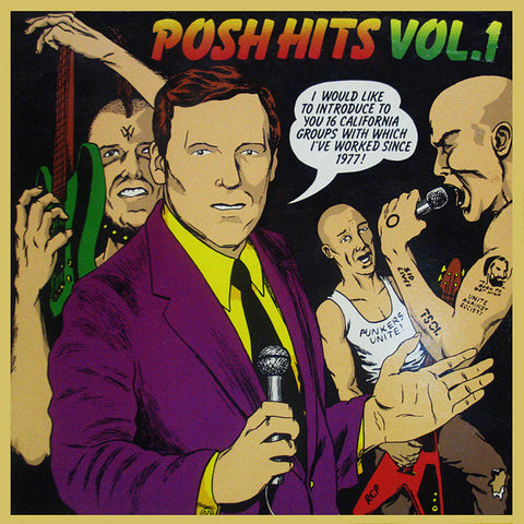Posh Hits Vol 1-V/A 2nd Hand - Skateboards Amsterdam