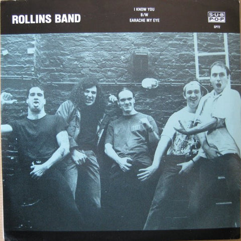 Rollins Band-I know You 2nd hand - Skateboards Amsterdam