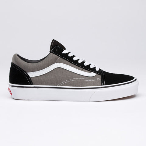 VANS OLD SKOOL BLACK/PEWTER - Skateboards Amsterdam - 1