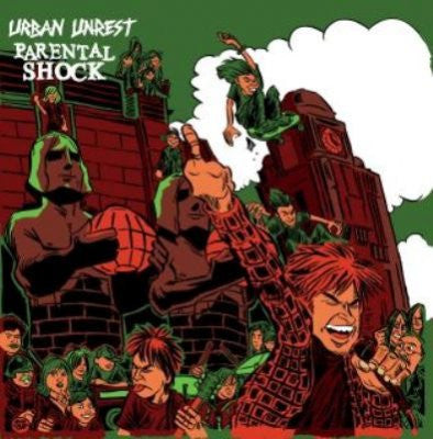 Urban Unrest-Parental Shock-Split - Skateboards Amsterdam