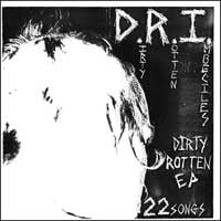 D.R.I.-Dirty Rotten EP - Skateboards Amsterdam