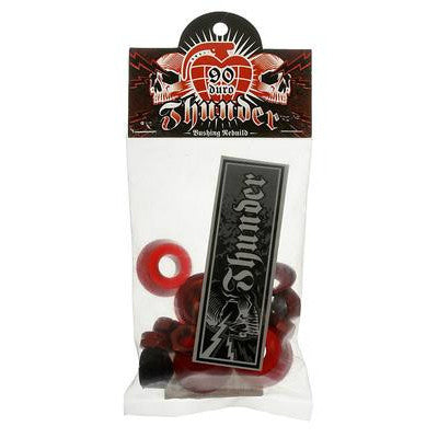 THUNDER REBUILD KIT RED 90DU - Skateboards Amsterdam