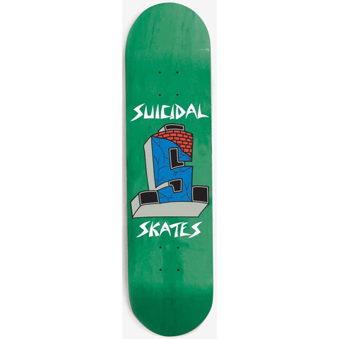 DOGTOWN SUICIDAL STREET CROSS GREEN 8.5