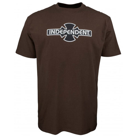 INDEPENDENT OGBC T-SHIRT DARK CHOCOLATE