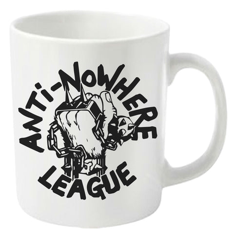 ANTI NOWHERE LEAGUE BOXED MUG LOGO
