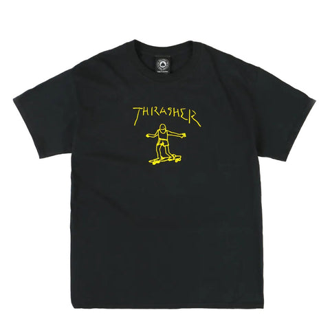 THRASHER GONZ T-SHIRT BLACK