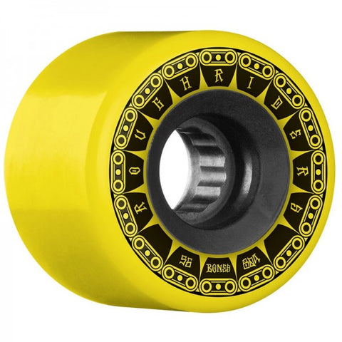 BONES ATF ROUGH RIDERS TANK 80A 56MM YELLOW