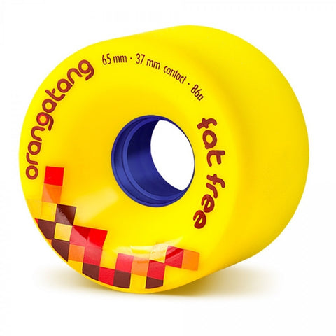 ORANGATANG FAT FREE YELLOW 65MM 86A