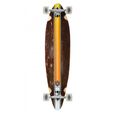 SATERNO ORANGE PINTAIL 9.6 - Skateboards Amsterdam - 1