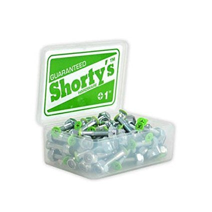 "SHORTY'S 1"" COLOR TIP GREEN"
