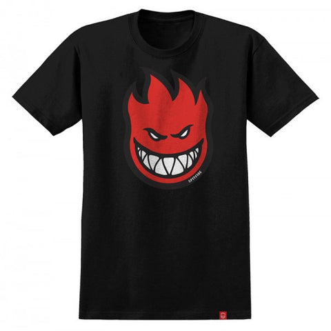 SPITFIRE BIGHEAD FILL T-SHIRT BLACK/RED