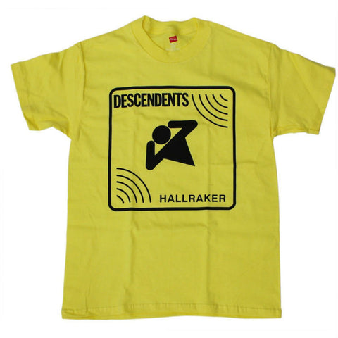 DESCENDENTS HALLRAKER T-SHIRT YELLOW - Skateboards Amsterdam
