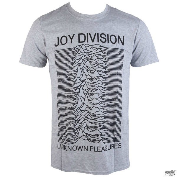 joy division unknown pleasures t shirt grey skateboards. Black Bedroom Furniture Sets. Home Design Ideas