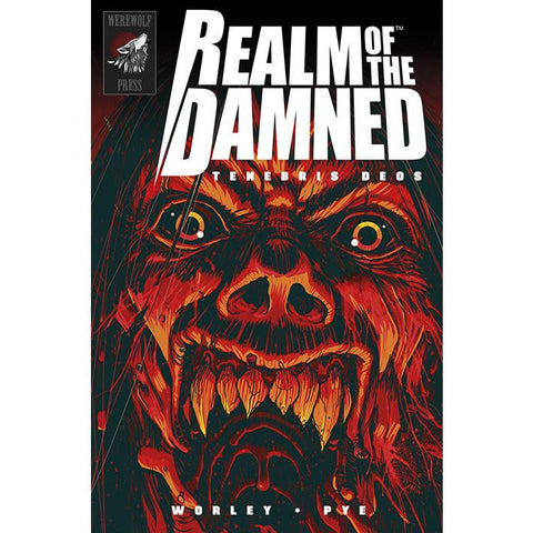 REALM OF THE DAMNED TENEBRIS DEOS HARDCOVER - Skateboards Amsterdam