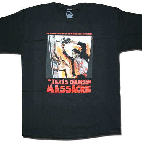 TEXAS CHAINSAW MASSACRE WHAT HAPPENED IS TRUE T-SHIRT BLACK - Skateboards Amsterdam