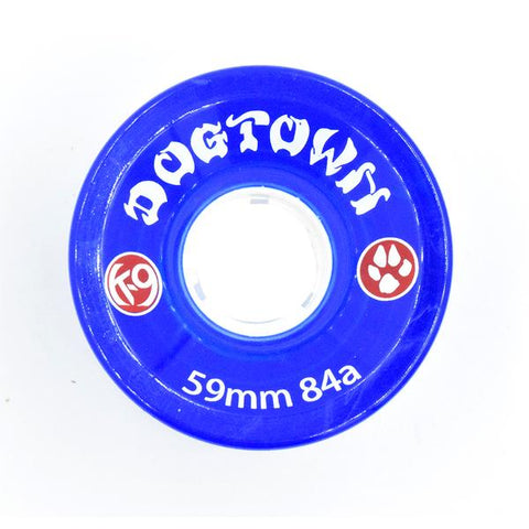 DOGTOWN K-9 CRUISER CLEAR BLUE 84A 59MM