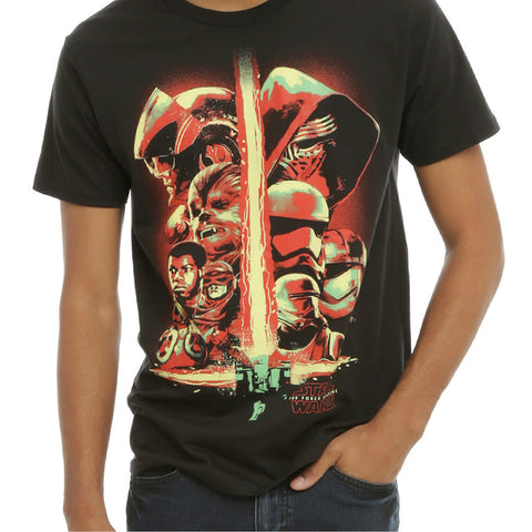STAR WARS COLLECTION T-SHIRT BLACK - Skateboards Amsterdam