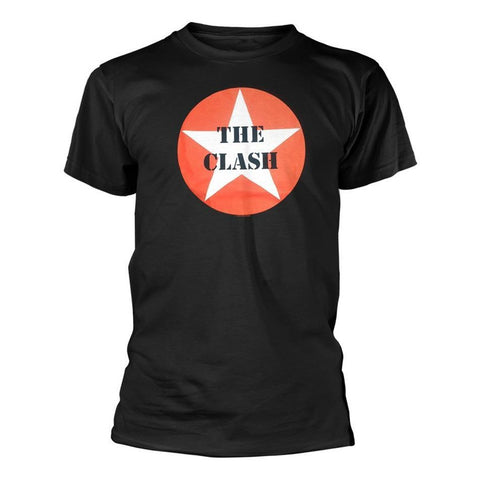 CLASH  STAR BADGE T-SHIRT BLACK