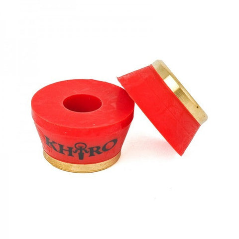 KHIRO GOLD INSERT BUSHINGS 90A RED