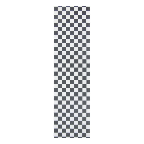 BLACK/WHITE CHECKERED GRIPTAPE SHEET 9.0