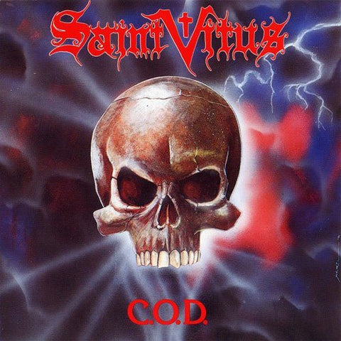 Saint Vitus-C.O.D. -Re-Issue, Red Vinyl- - Skateboards Amsterdam