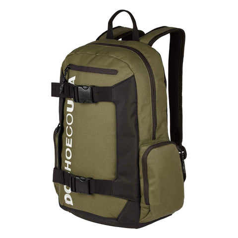 DC CHALKERS SKATE BACKPACK FATIGUE GREEN