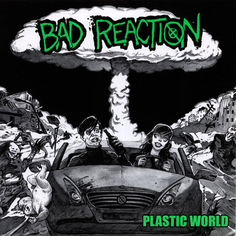 Bad Reaction-Plastic World - Skateboards Amsterdam