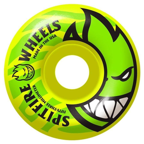 SPITFIRE BIGHEAD ELECTROFIRE YELLOW 53MM