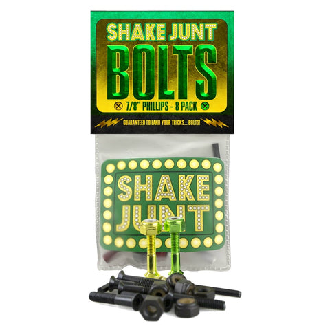 SHAKE JUNT BOLTS 7/8 PHILLIPS HEAD