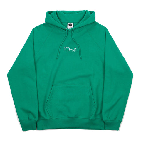 POLAR DEFAULT HOODED SWEATER GREEN