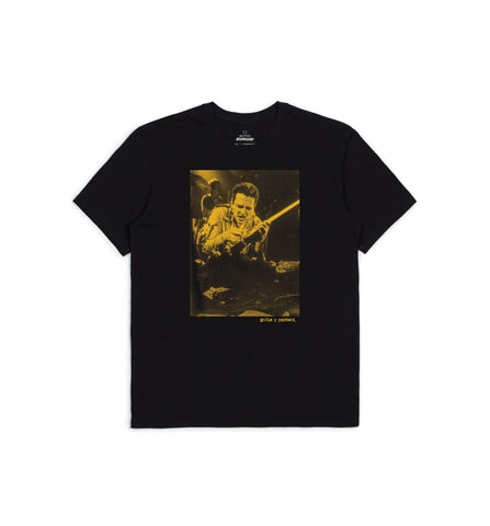 BRIXTON JOE STRUMMER STAGE T-SHIRT BLACK