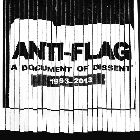 Anti Flag-Document Of Dissent 1993-2013 - Skateboards Amsterdam