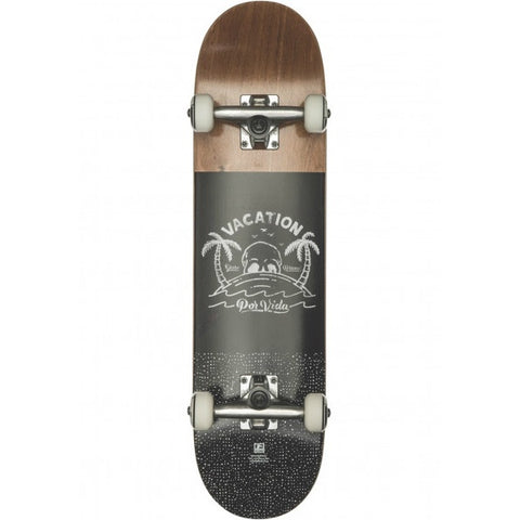 GLOBE POR VIDA MID BROWN/BLACK 7.6