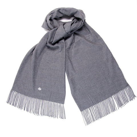 MAGENTA SCARF HEATHER GREY